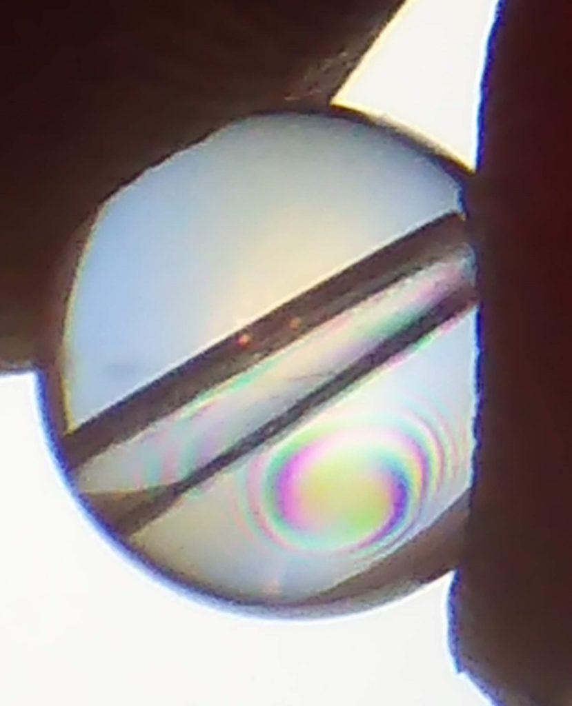水晶の中は、よーく見ると別世界!癒しフェア忙しい~